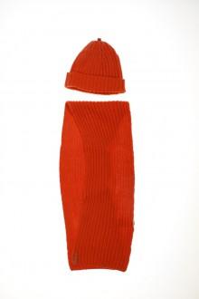 Ensemble écharpe et bonnet d'occasion de la marque Petit Bateau en taille 3 mois Petit Bateau