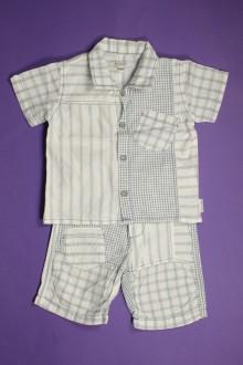 vêtements bébés Ensemble léger pantalon et chemisette Jean Bourget 3 mois Jean Bourget