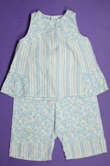 habits bébé Ensemble pantalon et blouse sans manches Sergent Major 9 mois Sergent Major