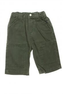 Pantalon en toile vert, Obaïbi, 6 mois Obaïbi