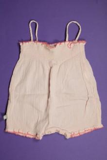 habits bébé Barboteuse gaufrée à fines bretelles Petit Bateau 3 mois Petit Bateau