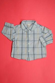 Habits pour bébé occasion Chemise à carreaux Sans marque 6 mois Sans marque