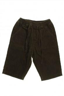 Pantalon en velours fin d'occasion de la marque Bonpoint en taille 6 mois Bonpoint
