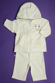 Habits pour bébé Survêtement en velours pantalon et gilet à  capuche Vertbaudet 3 mois Vertbaudet