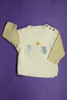 habits bébé occasion Ensemble tee-shirt manches longues et pull DPAM 3 mois DPAM