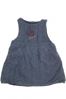 Habits pour bébé Robe chasuble en jean Sergent Major 9 mois Sergent Major