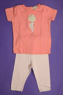 vêtements bébés Ensemble tee-shirt et legging Grain de Blé 6 mois Grain de Blé