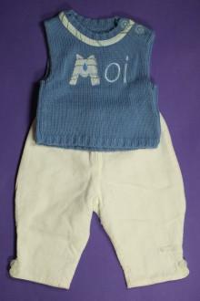 Habit d'occasion pour bébé Ensemble pantalon et débardeur Clayeux Naissance Clayeux