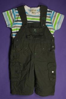 habits bébé Salopette et tee-shirt Grain de Blé 3 mois Grain de Blé