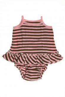 habits bébé occasion Robe rayée et culotte Gap 3 mois Gap