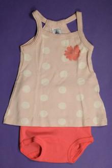 vêtements bébés Robe et culotte Petit Bateau 3 mois Petit Bateau