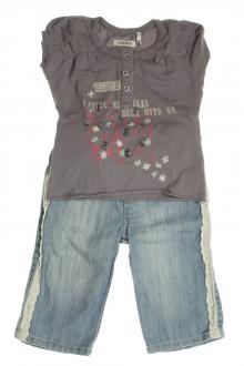 vêtements bébés Ensemble jean et tee-shirt IKKS 3 mois IKKS