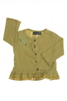 Habit d'occasion pour bébé Tee-shirt ajouré boutonné Jean Bourget 9 mois Jean Bourget