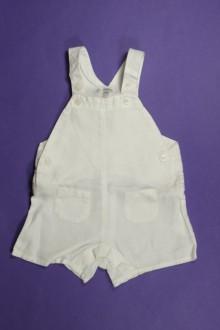 vêtements bébés Salopette courte en lin Bout'Chou 3 mois Bout'Chou