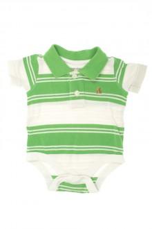 Habit d'occasion pour bébé Body polo manches courtes Gap 3 mois Gap
