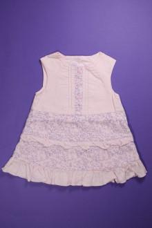 Robe chasuble fleurie à volants d'occasion de la marque Marèse en taille 6 mois Marèse
