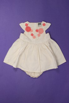 vêtements bébés Robe et culotte  Tape à l'Œil 3 mois Tape à l'œil