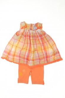 Habit d'occasion pour bébé Ensemble blouse et legging Pomme Framboise 3 mois Pomme Framboise