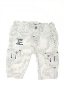habits bébé Pantalon à fines rayures Chicco 3 mois Chicco