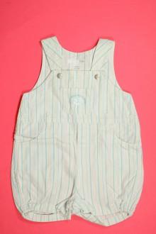 habits bébé occasion Salopette courte rayée H&M 6 mois H&M