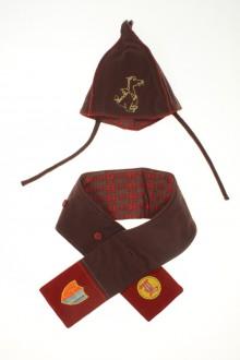 habits bébé occasion Ensemble bonnet et écharpe DPAM 3 mois DPAM