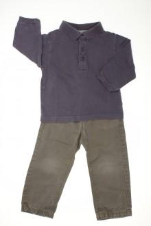 habits bébé Ensemble pantalon et polo Bout'Chou 18 mois Bout'Chou