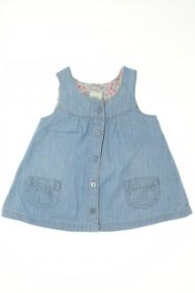 Habits pour bébé occasion Robe chasuble en jean H&M 3 mois H&M