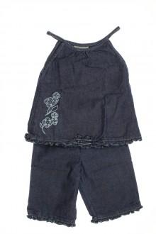 Habit de bébé d'occasion Ensemble en jean Sans Marque 9 mois Sans marque