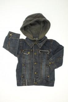 Habits pour bébé occasion Veste en jean à capuche Tape à l'œil 18 mois Tape à l'œil