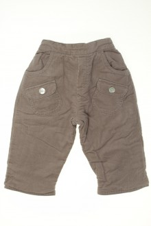 Habit de bébé d'occasion Pantalon en velours fin réversible Tartine et Chocolat 3 mois Tartine et Chocolat