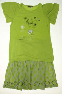 vêtement enfant occasion Ensemble jupe et tee-shirt Ooxoo 12 ans Ooxoo