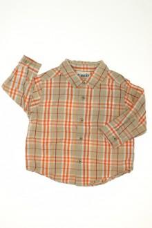 habits bébé Chemise à carreaux DPAM 6 mois DPAM