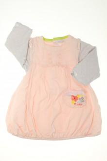 Habits pour bébé occasion Robe molletonnée Absorba 6 mois Absorba