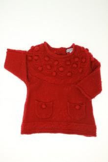 Habit de bébé d'occasion Robe en laine mélangée Vertbaudet 3 mois Vertbaudet
