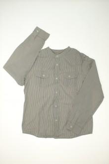 vêtements enfants occasion Chemise à fines rayures Bonpoint 8 ans Bonpoint