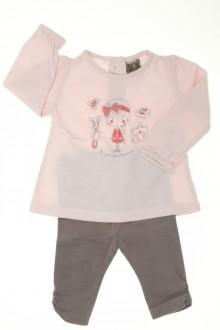 Habit d'occasion pour bébé Ensemble tee-shirt et legging Tape à l'œil 3 mois Tape à l'œil