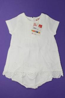 habits bébé Robe broderie anglaise et culotte - NEUF DPAM 6 mois DPAM