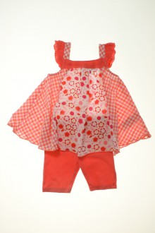 Habits pour bébé Ensemble robe et legging Vertbaudet 9 mois Vertbaudet