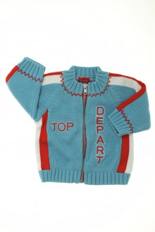 vêtements bébés Gilet zippé