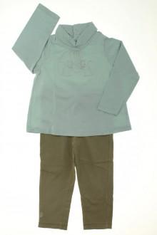 habits bébé Ensemble sous-pull et legging Obaïbi 18 mois Obaïbi