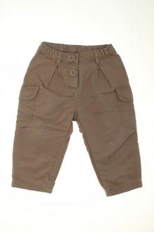 Habits pour bébé occasion Pantalon en toile épaisse Petit Bateau 18 mois Petit Bateau