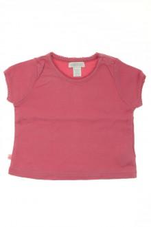 vêtements bébés Tee-shirt manches courtes Obaïbi 3 mois Obaïbi