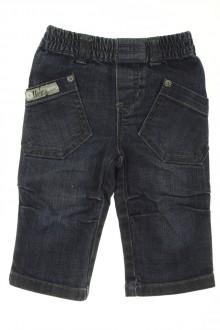 vêtements bébés Jean bicolore IKKS 6 mois IKKS