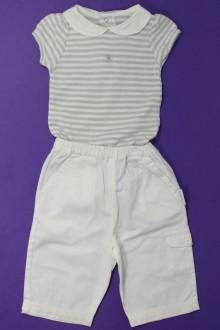 vêtements bébés Ensemble pantalon et body Bout'Chou 3 mois Bout'Chou