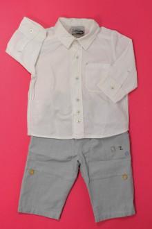 habits bébé Ensemble pantalon et chemise Catimini 6 mois Catimini