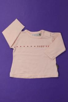 Habit de bébé d'occasion Tee-shirt manches longues Sans Marque 3 mois Sans marque